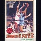 1977-78 Topps Basketball #104 John Shumate - Buffalo Braves
