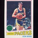 1977-78 Topps Basketball #094 Don Buse - Indiana Pacers