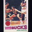 1977-78 Topps Basketball #048 Brian Winters - Milwaukee Bucks