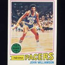 1977-78 Topps Basketball #044 John Williamson - Indiana Pacers