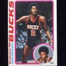 1978-79 Topps Basketball #056 Junior Bridgeman - Milwaukee Bucks