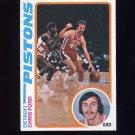 1978-79 Topps Basketball #015 Chris Ford - Detroit Pistons