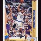 1991-92 Upper Deck Basketball #243 Tim Hardaway - Golden State Warriors