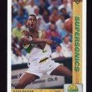 1991-92 Upper Deck Basketball #153 Gary Payton - Seattle Supersonics