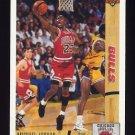 1991-92 Upper Deck Basketball #044 Michael Jordan - Chicago Bulls