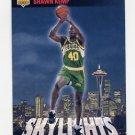 1993-94 Upper Deck Basketball #475 Shawn Kemp - Seattle Supersonics