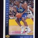 1993-94 Upper Deck Basketball #361 Isaiah Rider RC - Minnesota Timberwolves