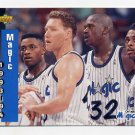 1993-94 Upper Deck Basketball #228 Shaquille O'Neal / Orlando Magic Schedule