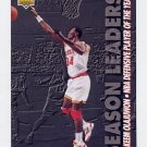 1993-94 Upper Deck Basketball #176 Hakeem Olajuwon - Houston Rockets