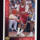 1993-94 Upper Deck Basketball #161 Sam Cassell RC - Houston Rockets