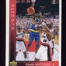 1993-94 Upper Deck Basketball #055 Dikembe Mutombo - Denver Nuggets