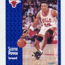 1991-92 Fleer Basketball #033 Scottie Pippen -Chicago Bulls