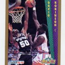 1992-93 Fleer Basketball #288 David Robinson - San Antonio Spurs