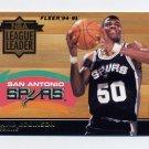 1994-95 Fleer Basketball League Leaders #6 David Robinson - San Antonio Spurs