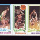 1980-81 Topps Basketball #168 Gus Williams / Dan Roundfield / Kevin Restani