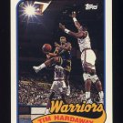 1992-93 Topps Archives Basketball #123 Tim Hardaway - Golden State Warriors