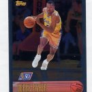 1996-97 Topps Basketball NBA at 50 #206 Derek Fisher - Los Angeles Lakers