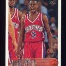 1996-97 Topps Basketball #171 Allen Iverson RC - Philadelphia 76ers