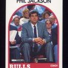 1989-90 Hoops Basketball #266 Phil Jackson CO - Chicago Bulls