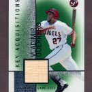 2004 Topps Pristine Key Acquisition Bat Relics #KA-VG Vladimir Guerrero - Angels Game-Used Bat
