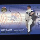 2003 Fleer Focus JE MLB Shirtified #12 Roger Clemens - New York Yankees