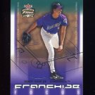 2003 Fleer Focus JE Franchise Focus #02 Randy Johnson - Arizona Diamondbacks