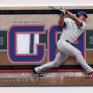 2003 Fleer Genuine Article Insider Game Jersey #GA-JG Jason Giambi - Yankees Game-Used Jersey SP/50