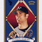 2003 Topps 205 Baseball #038 Tim Hudson - Oakland Athletics