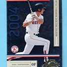 2004 Absolute Memorabilia Retail Baseball #034 Carl Yastrzemski - Boston Red Sox