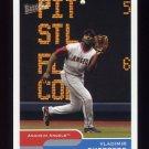 2004 Bazooka Baseball #150A Vladimir Guerrero - Anaheim Angels