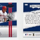2004 Playoff Honors Baseball Prime Signature Insert #01 Garret Anderson - Angels /2500
