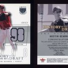 2004 SkyBox LE History Draft 90's Jersey Silver #AK Austin Kearns - Game-Used Jersey /50