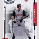 2004 Throwback Threads Material #058 Sean Casey - Reds Game-Used Jersey /100