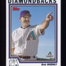 2004 Topps Baseball #268 Bob Brenly MG - Arizona Diamondbacks