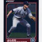2005 Bowman Chrome Baseball A-Rod Throwback #97AR Alex Rodriguez - Seattle Mariners