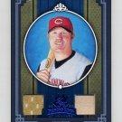2005 Diamond Kings Materials Framed Blue #337 Adam Dunn - Reds Game-Used Jersey, Bat /100