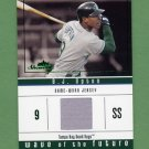 2005 Fleer Showcase Wave of the Future Jersey Green #BU B.J. Upton - Rays Game-Used Jersey