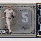 2005 Prime Cuts Material Jersey Number #49 Pat Burrell - Phillies Game-Used Jersey /50