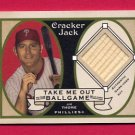 2005 Topps Cracker Jack Take Me Out to the Ballgame Mini Relics #JT Jim Thome Game-Used Bat