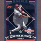 2006 Topps National Baseball Card Day Inserts #T1 Vladimir Guerrero FOIL - Los Angeles Angels
