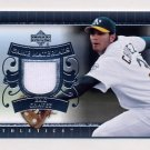 2007 Upper Deck UD Game Materials #EC Eric Chavez - Oakland Athletics Game-Used Jersey