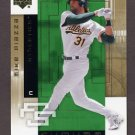 2007 Upper Deck Future Stars Baseball #068 Mike Piazza - Oakland Athletics