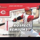 2003 Bowman Draft Prospect Premiums Relics #AK Austin Kearns - Reds Game-Used Jersey
