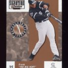 2003 Donruss Signature Notable Nicknames #09 Frank Thomas - Chicago White Sox /750