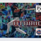 2000 UD Ionix Atomic #A13 Mike Piazza - New York Mets