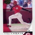 2001 Donruss Class Of 2001 Baseball #098 Barry Larkin - Cincinnati Reds