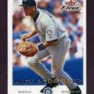 2001 Fleer Focus Baseball #070 Alex Rodriguez - Seattle Mariners