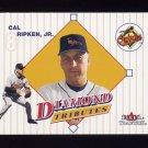 2001 Fleer Tradition Diamond Tributes #DT08 Cal Ripken