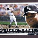 2001 Fleer Tradition Baseball #263 Frank Thomas