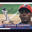 2001 Fleer Tradition Baseball #198 Vladimir Guerrero
